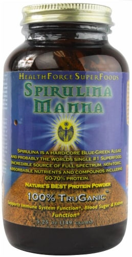 HealthForce Superfoods  Spirulina Manna Powder Perspective: front