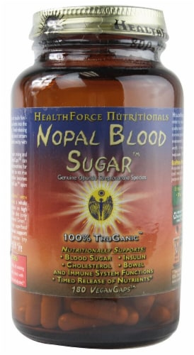 HealthForce Superfoods  Nopal Blood Sugar™ Perspective: front