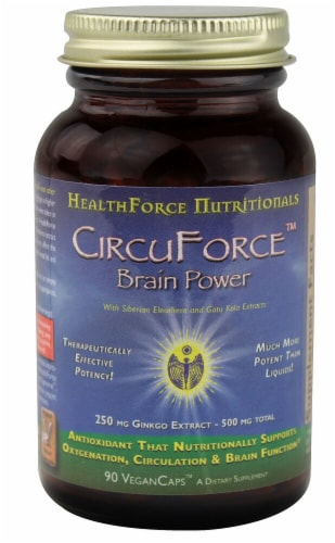 HealthForce Superfoods  CircuForce™ Brain Power Perspective: front