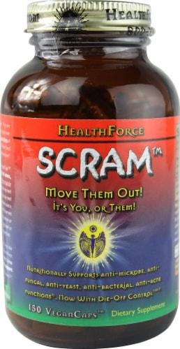 HealthForce Superfoods  SCRAM™ Internal Parasite Formula Perspective: front
