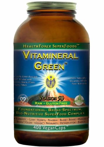 HealthForce Superfoods  Vitamineral Green™ Version 5.5 Perspective: front