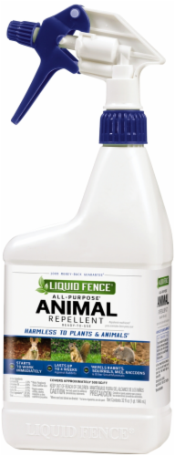 Liquid Fence® All-Purpose Animal Repellent Ready-to-Use Spray Perspective: front