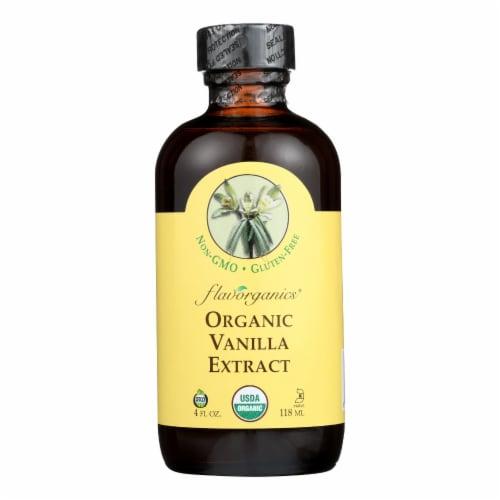 Flavorganics Organic Vanilla Extract Perspective: front