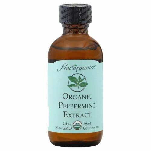 Flavorganics Organic Peppermint Extract Perspective: front