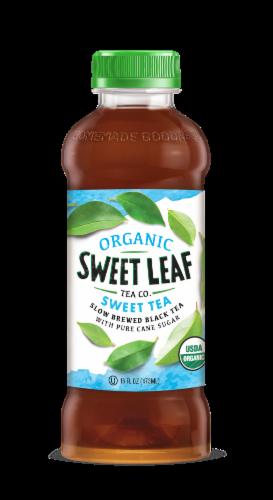 Sweet Leaf Organic Original Sweet Tea Iced Tea Perspective: front
