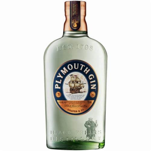 Plymouth Gin Perspective: front