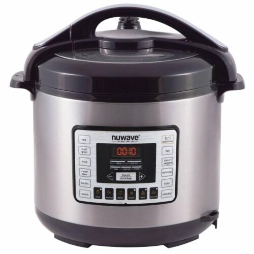 Nuwave 33201 8 qt Electric Pressure Cooker Perspective: front