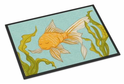 Carolines Treasures  BB8544JMAT Gold Fish Indoor or Outdoor Mat 24x36 Perspective: front