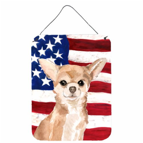 Chihuahua Patriotic Wall Or Door Hanging Prints 16hx12w Ralphs