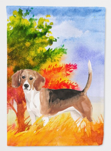 Ines Treasures Ck1959gf Fall, Beagle Garden Flag
