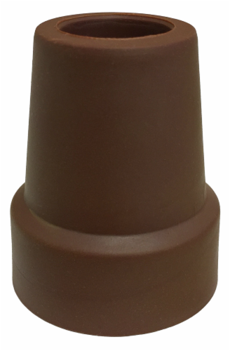 "Nova Cane Tip 3/4"" - Brown Perspective: front"