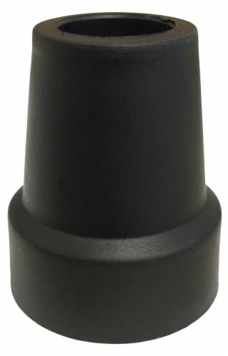 """Nova Cane Tip 3/4"""" -  Black Perspective: front"""