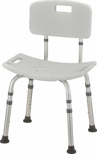 Nova Bath & Shower Seat with Back Perspective: front