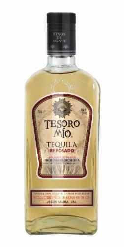 Tesoro Mio Reposado Tequila Perspective: front