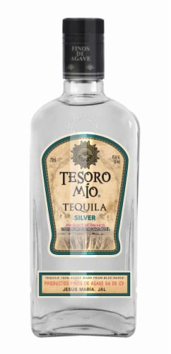 Tesoro Mio Silver Tequila Perspective: front