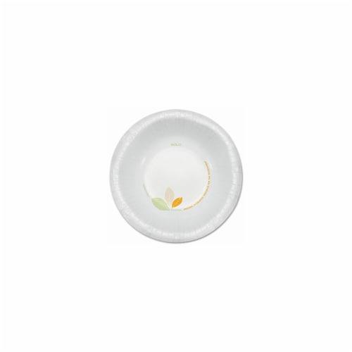 Bare Paper Dinnerware- 12 oz. Bowl- Green/Tan- 500/Carton Perspective: front