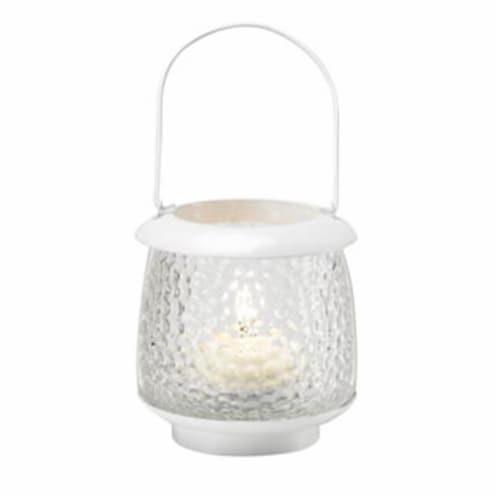 Summer White Playa Tea Light Lantern Perspective: front