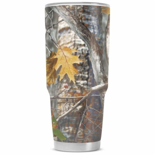 44 oz Double Vacuum Wall Tumbler with Lid, Camouflage Perspective: front