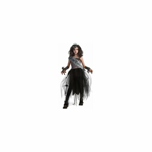 Rubies Costumes  Goth Prom Queen Child Costume - Black - Small Perspective: front