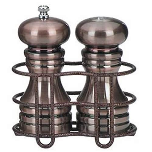 5.88 Inch - Burnished Set With Holder Perspective: front