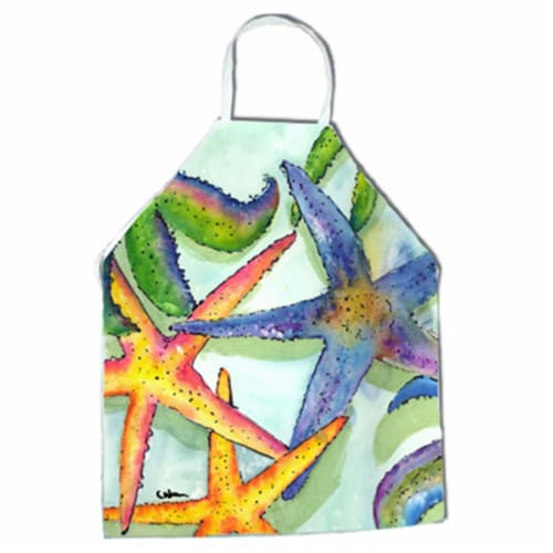 Starfish Apron - 27 x 31 in. Perspective: front