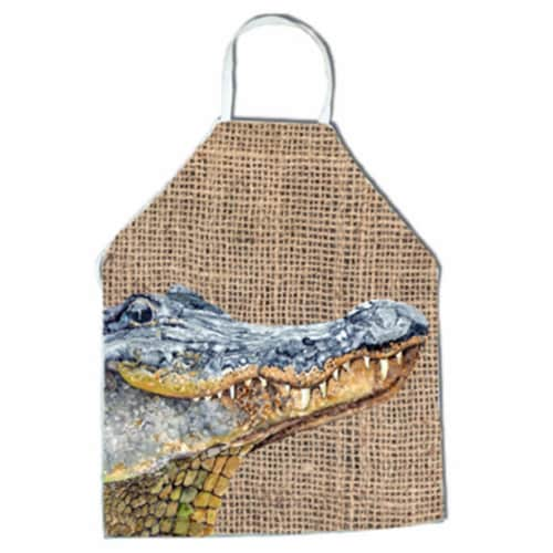 Alligator Apron - 27 x 31 in. Perspective: front