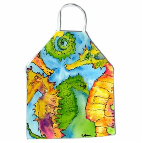 Seahorse Seahorse Apron - 27 x 31 in. Perspective: front