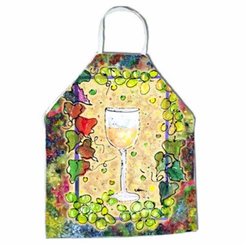 Wine Apron - 27 x 31 in. Perspective: front
