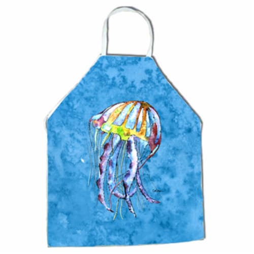 27 x 31 in. Jellyfish Apron Perspective: front