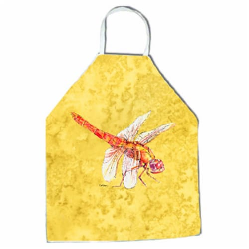 27 H x 31 W in. Dragonfly on Yellow Apron Perspective: front