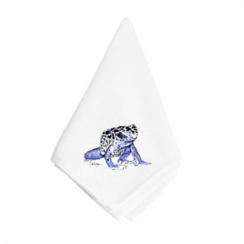 Frog Napkin Perspective: front