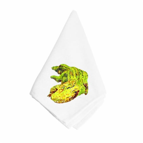 Alligator Napkin Perspective: front