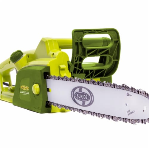 16 in. 14 amp Sun Joe Electric Chain Saw Perspective: front