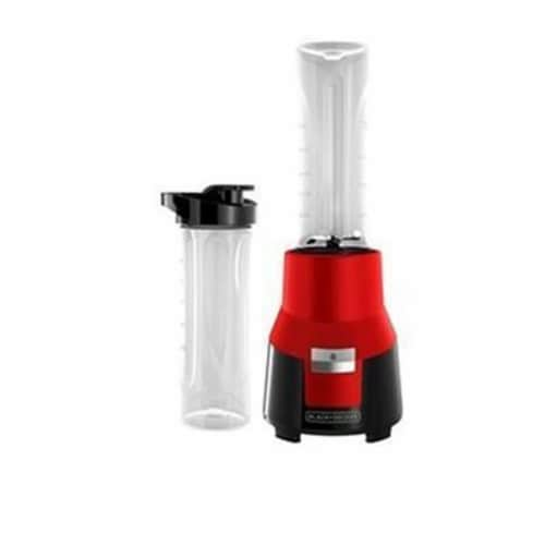 Black Decker Personal Blender Plastic, Red Perspective: front