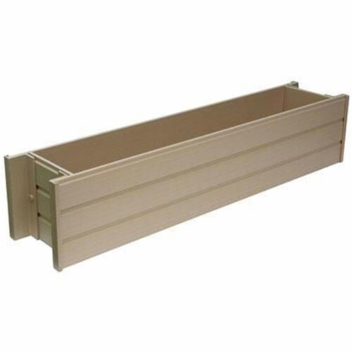 Ecochoice 30 in. Rect Window Box Perspective: front