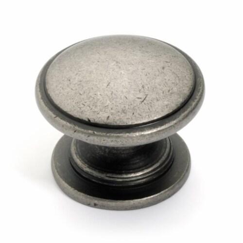 Super Saver Cabinet Knob, Antique Nickel Perspective: front