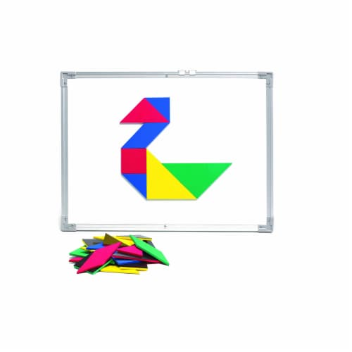 Giant Magnetic Foam Tangrams Perspective: front