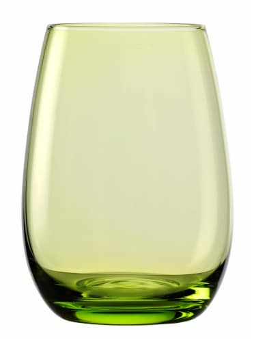 Elements Tumbler - Green Perspective: front
