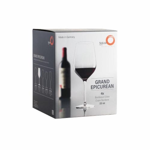 Stolzle Lausitz Grand Epicurean Bordeaux Wine Glasses Perspective: front