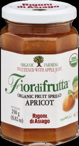 Fior di Frutta Organic Apricot Fruit Spread Perspective: front
