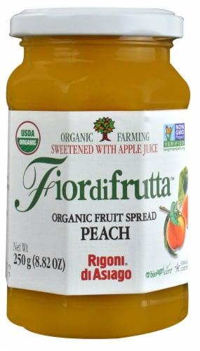 Rigoni di Asiago  Fiordifrutta Organic Fruit Spread   Peach Perspective: front