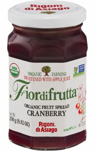 Rigoni di Asiago Organic Fiore Di Frutta Cranberry Fruit Spread Perspective: front