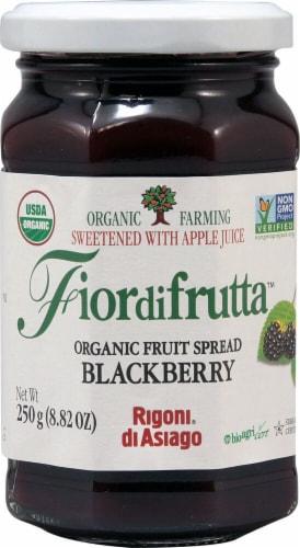 Rigoni di Asiago  Fiordifrutta Organic Fruit Spread   Blackberry Perspective: front
