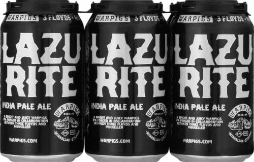 WarPigs Lazu Rite IPA Beer Perspective: front