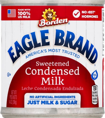 Eagle Brand Sweetened Condensed Milk Perspective: front