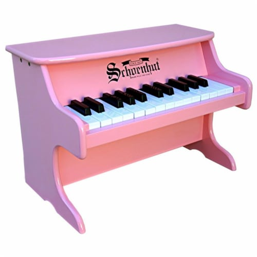 Schoenhut 2522P My First Piano II - Pink Perspective: front