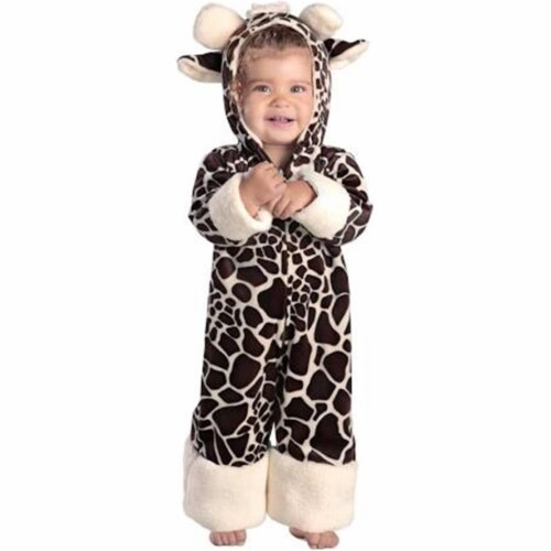 Princess Paradise 249865 Baby Giraffe Infant Costume for 6 - 12 Months, Brown & Cream Perspective: front
