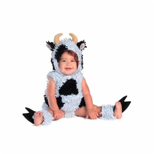Princess 407729 Child Kelly the Cow Costume - Infant Perspective: front