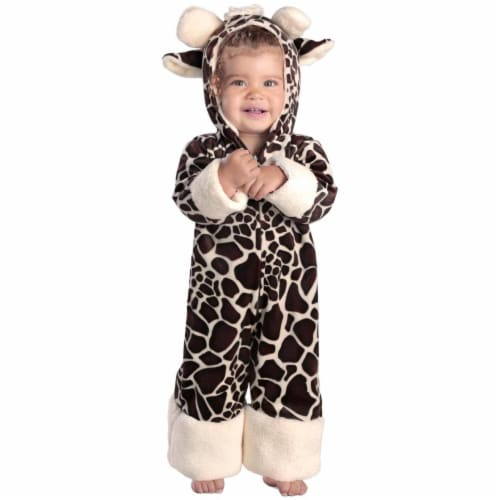 Princess Paradise 249866 Baby Giraffe Toddler Costume for 12 - 18 Months, Brown & Cream Perspective: front