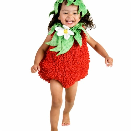 Princess 410292 Girls Suzie Strawberry Child Costume - NS Perspective: front
